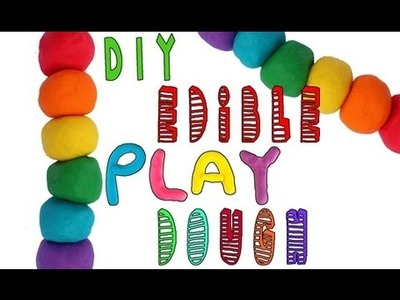DIY | Edible Play Dough (Flavored) - HOW TO MAKE EDIBLE PLAY-DOH THAT TASTES AMAZING!!!