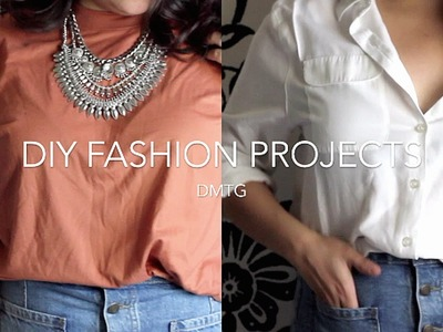 DIY fashion   HOW TO TRANSFORM THRIFT FINDS