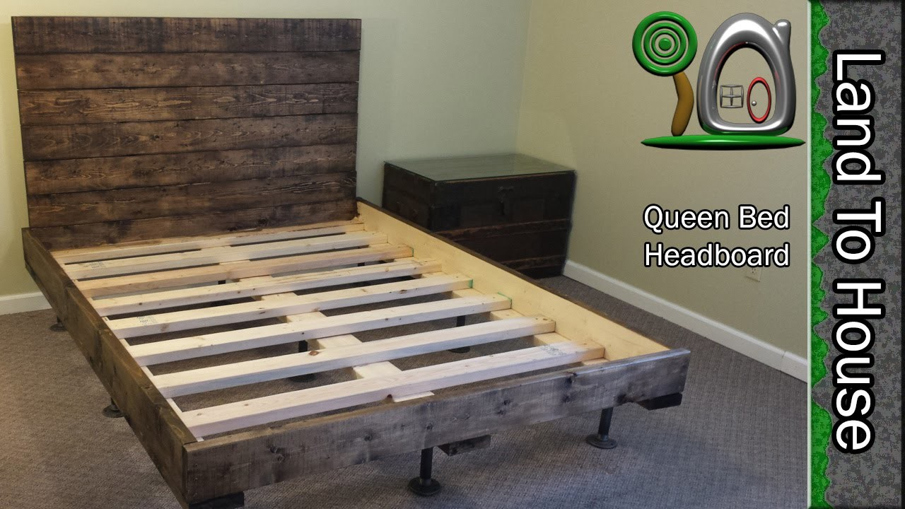 diy headboard for a queen size bed