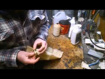 DIY How to Make a 1800s Market Wallet