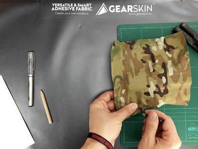 DIY Kydex holster camouflage with GEARSKIN™