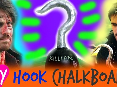 DIY ONCE UPON A TIME. CAPTAIN HOOK'S HOOK