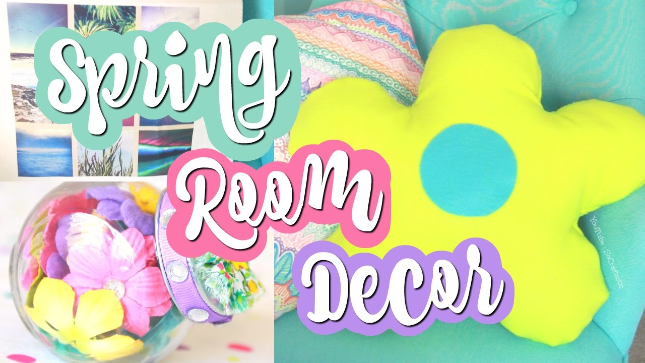 DIY Spring Room Decor & Gift Ideas. Instagram Tote, No-Sew Pillow, & More!