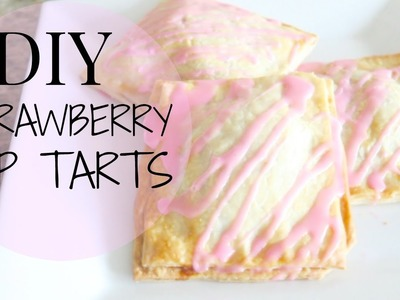 DIY Strawberry Pop Tarts