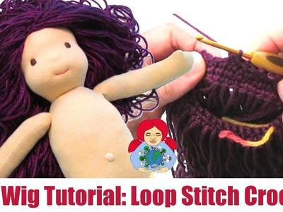 DIY | (Waldorf) Doll Hair: Loop Crochet Cap Method | Sami Doll Tutorials