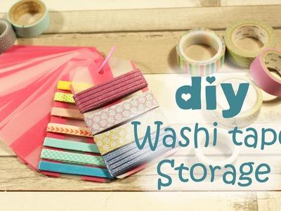 DIY Washi tape organizer - ♥ Pimp my Planner