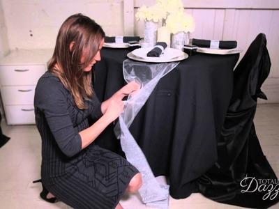 DIY Wedding Decor Tutorial A Do It Yourself Wedding Decor Project by Totally Dazzled