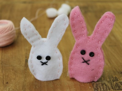 Easter craft: How to make bunny finger puppets