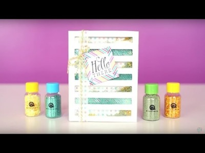 Easy DIY Shaker Card with Queen & Co