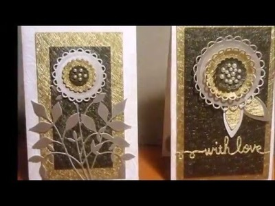 Elegant and Simple handmade Cards –DIY