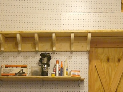 Ep 6 - How I made the upper shelves and supports for my wood shop featuring a shoutout to Jay Bates