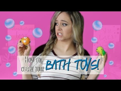 How To Clean.Disinfect Bath Toys || MickIsAMom