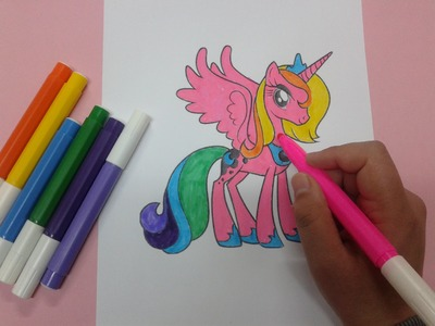 How to color my little pony coloring pages , free coloring pages , mlp coloring pages
