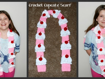 How to Crochet a Cupcake Scarf