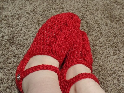 How To #Crochet Womens Cable Stitch slippers #TUTORIAL #300