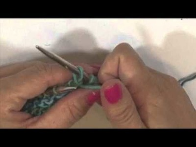 How to Knit and Purl In The Same Row