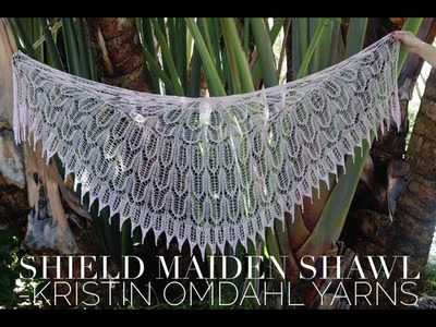 How to Knit Edging for Shield Maiden Shawl