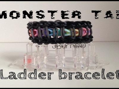 How to Loom: Ladder bracelet (Monster Tail tutorial)