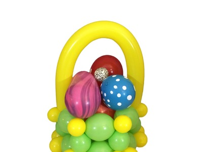 How To Make a Balloon Easter Basket
