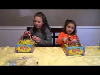 How to make a candy Easter basket