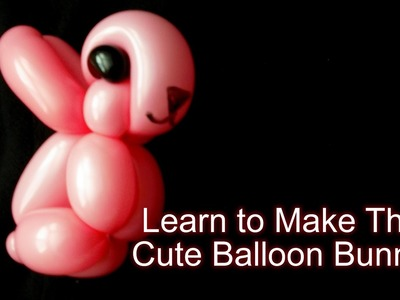 How to Make a Cute Rabbit Balloon