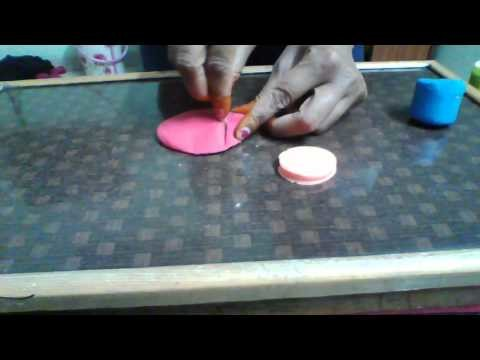 How to make a doll with clay doh, art n craft for kids, clay modelling for kids,
