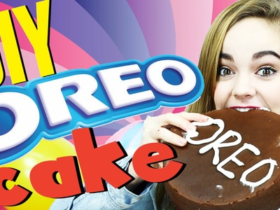 How to Make a Giant Oreo Cake DIY!