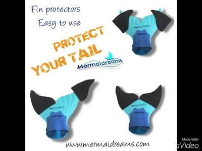 How to make a Mermaid Tail. Part 1 Monofin protectors.
