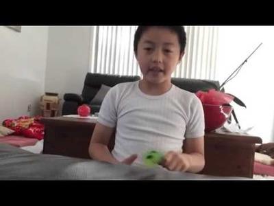 How to make a splat ball | Kid Craft #2 |