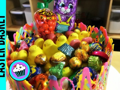 How to make an Easter Basket Cake | Pinch of Luck