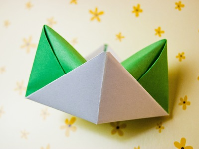 How to make an origami hat