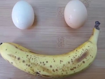 How To Make Easy 2 Ingredient Banana Pancakes - Video Recipe