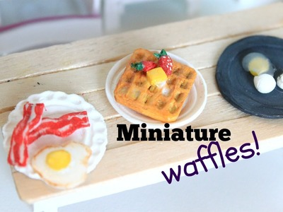How to make miniature breakfast | LPS DIY