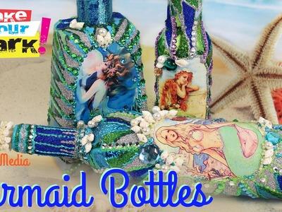 How to: Mermaid Bottles