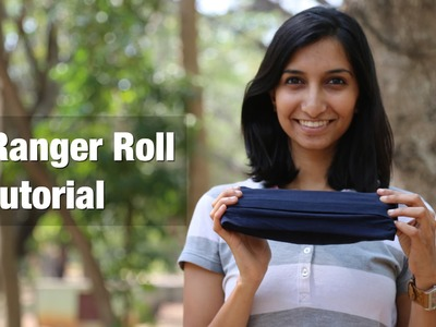 How to Ranger Roll your T-shirt