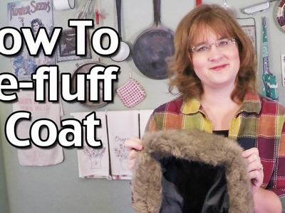 How To Re-fluff A Coat