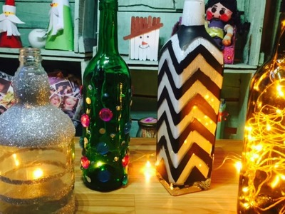 How to: Recycle used wine bottles|| Simple and easy||GENERATION_DIY