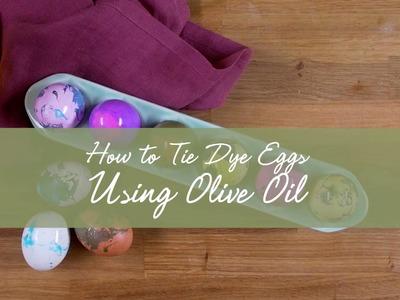 How-To Tie Dye Eggs using Filippo Berio Olive Oil