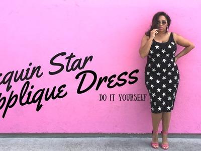 INSPO: DIY Sequin Applique Dress | A #MissKrisTV Quickie