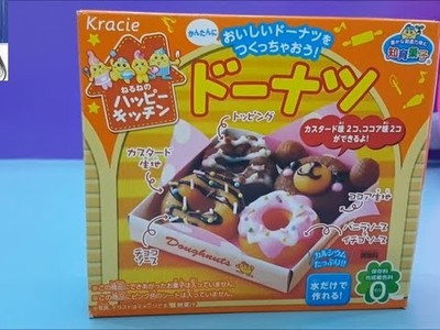 Kracie Happy Kitchen Popin Cookin DIY Mini Donuts