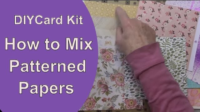 Learn to Mix Patterned Papers: DIY Card Kit