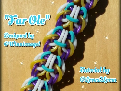 "New ""Far Ole"" Hook Only Bracelet. How to Tutorial"