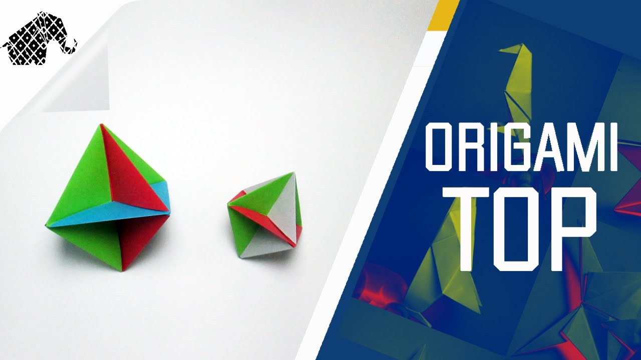 Origami - How To Make An Origami Top