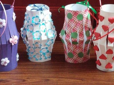 Paper lantern. How to make paper lantern