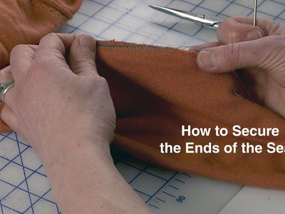 Quick Tip Thursday l How to Secure the Seams