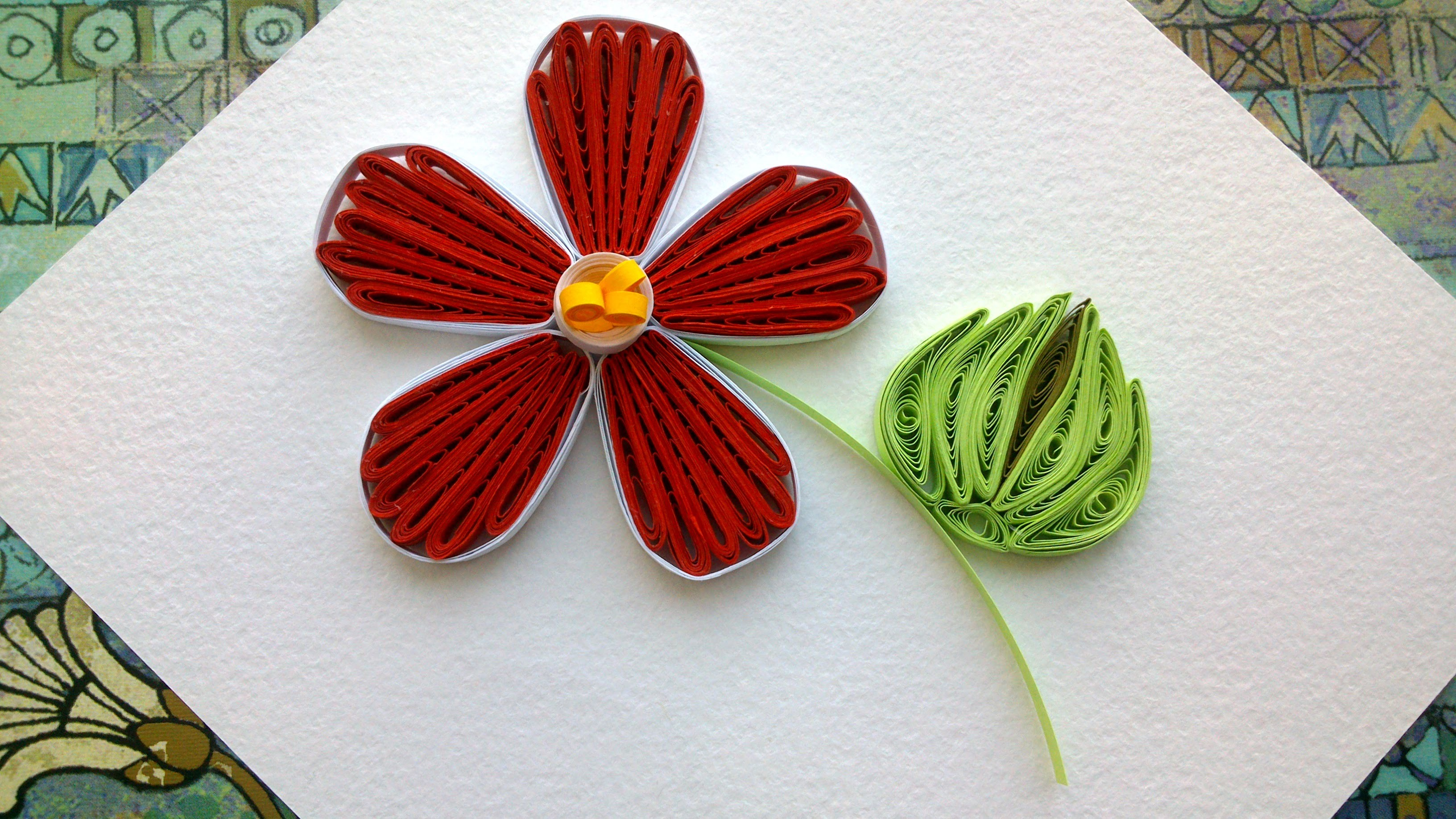 Quilling designs flowers how to make a paper quilling for How to quilling designs