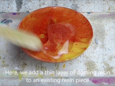 Resin8 - Resin Jewellery Tutorial - How to remove bubbles from resin