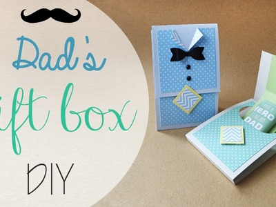 Scatola Regalo festa del Papà - DIY Dad's Gift Box