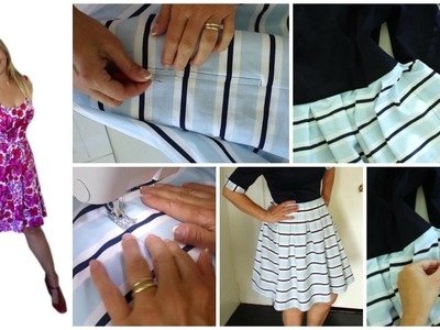 Side Pockets DIY - Learn how to sew - Sewing Workshop
