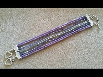 (Tutorial) 5 In 1 Bracelet DIY (Video 155)
